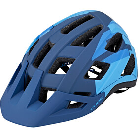 Cube Badger Casque, blue camo